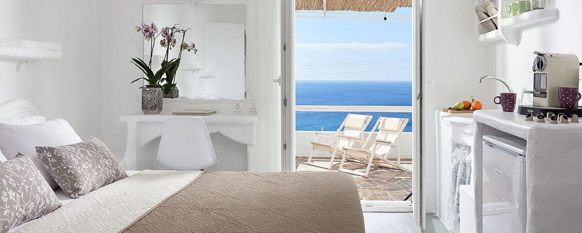 Δίκλινο Δωμάτιο με θέα στη Θάλασσα  Δίκλινο Δωμάτιο με θέα στη Θάλασσα                                                                         1200x480