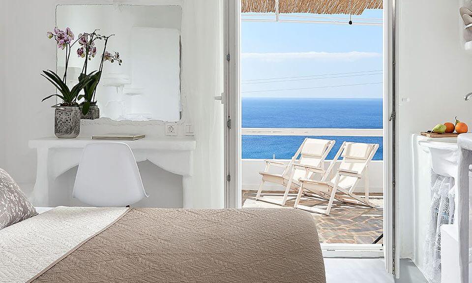 Δίκλινο Δωμάτιο με θέα στη Θάλασσα